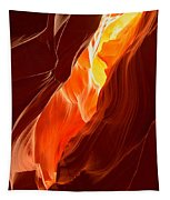 Flames Under Arizona  Tapestry