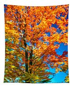 Flaming Maple - Paint Tapestry