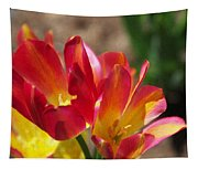 Flaming Tulips Tapestry