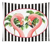 Flamingo Amore 5 Tapestry