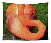 Flamingo Asleep Tapestry
