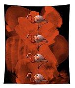 Flamingo Balance - 1 Tapestry