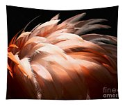 Flamingo Feathers Tapestry