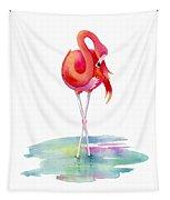 Flamingo Primp Tapestry