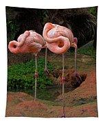 Flamingo See Flamingo Do Tapestry
