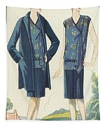 Flappers In Frocks And Coats, 1928  Tapestry