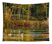 Flapping For Fall Tapestry