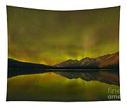 Flaring Northern Lights Tapestry
