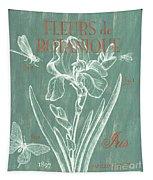 Fleurs De Botanique Tapestry