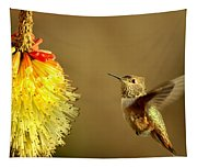 Flight Of The Hummer Tapestry