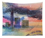 Floating City Tapestry