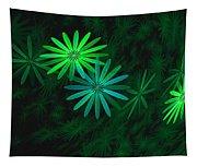 Floating Floral-007 Tapestry