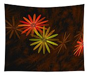 Floating Floral-008 Tapestry