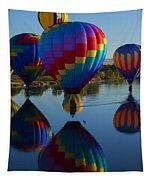 Floating Reflections Tapestry