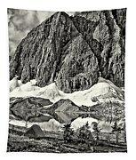 Floe Lake Sepia Tapestry