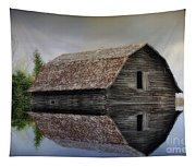 Flooded Barn Tapestry