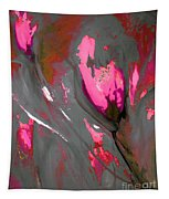 Floral Abstract  Tapestry