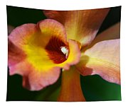 Floral Art - Intimate Orchid 3 - Sharon Cummings Tapestry