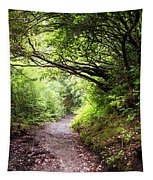 Floral Confetti On The Trail Tapestry