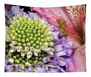Floral Macro Tapestry
