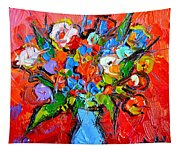 Floral Miniature - Abstract 0115 Tapestry
