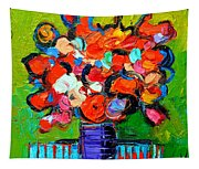 Floral Miniature - Abstract 0315 Tapestry