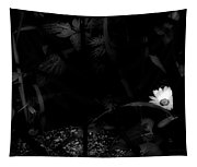 Floral Yellow Peek A Boo Bw Tapestry