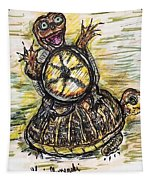Florida Box Turtle Tapestry