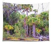 Florida Greens Tapestry
