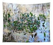Florida Pond Tapestry