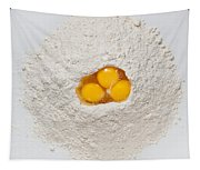 Flour And Eggs Tapestry