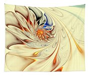 Flower Abstract Light Tapestry