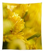 Flower Abstract Tapestry