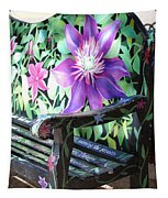 Flower Bench Tapestry