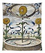 Flower Clock, 1643 Tapestry