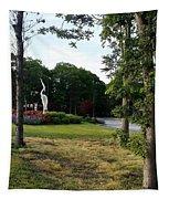 Flower Crane Tapestry