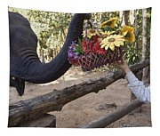 Flower Delivery By Trunk Tapestry