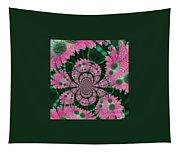 Flower Design Tapestry