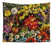 Flower Extravaganza Tapestry