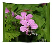 Flower Fly On Stinky Bob Tapestry