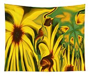 Flower Fun Tapestry
