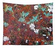 Flower Garden In The Rust Tapestry