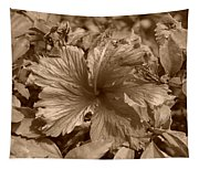 Flower In Sepia Tapestry