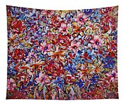 Flower Passion Tapestry