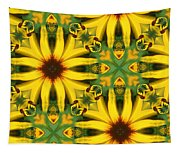 Flower Pattern Tapestry
