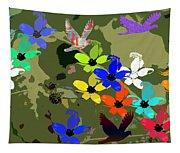 Flower Power 48 Tapestry