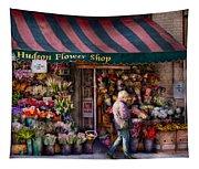 Flower Shop - Ny - Chelsea - Hudson Flower Shop  Tapestry