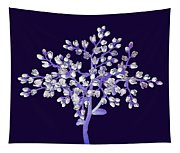 Flower Tree Tapestry