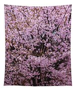 Flowering Pink In Spring Tapestry