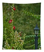 Flowers And Lanterns Tapestry